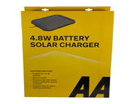 AA 4 watt Battery Solar Charger Conditioner Maintainer